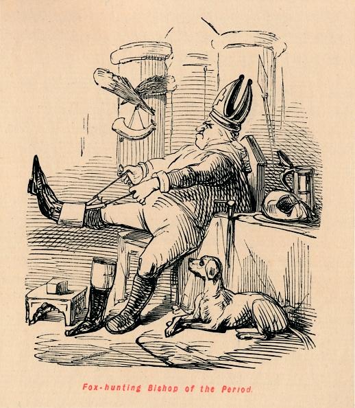 Bishop - Clergy「Fox Hunting Bishop Of The Period Circa 1860」:写真・画像(9)[壁紙.com]