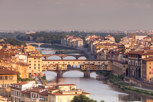 UNESCO「Ponte Vecchio」:スマホ壁紙(13)