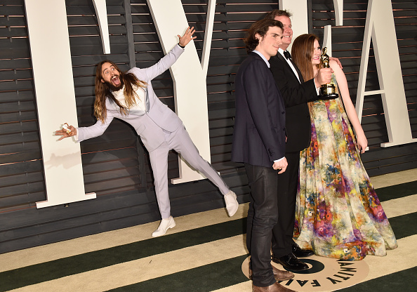 Beverly Hills - California「2015 Vanity Fair Oscar Party Hosted By Graydon Carter - Arrivals」:写真・画像(4)[壁紙.com]