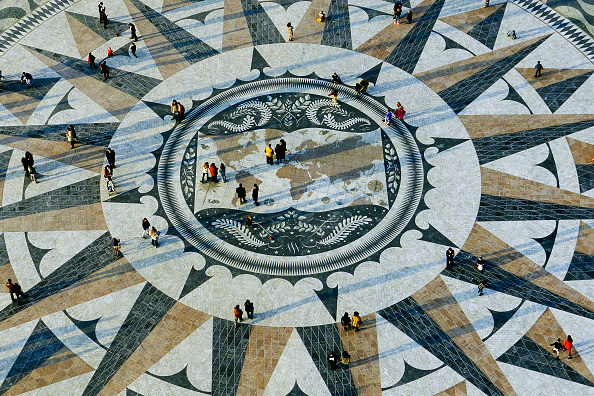 Town Square「Birds eye perspective of the plaza, Vasco de Gama, Portugal.」:写真・画像(8)[壁紙.com]