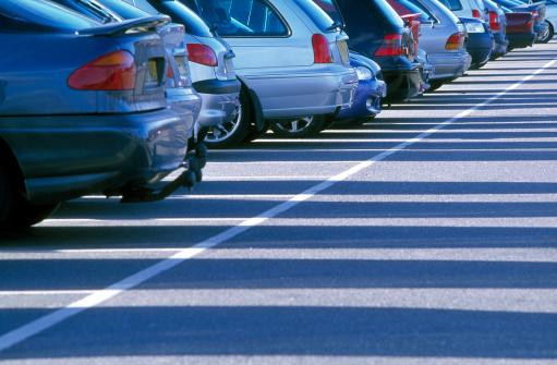 Parking Lot「Car park」:スマホ壁紙(8)