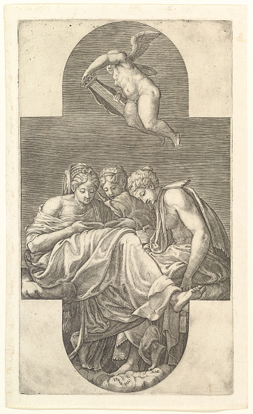 Ceiling「Three Muses And A Putto With A Lyre」:写真・画像(15)[壁紙.com]