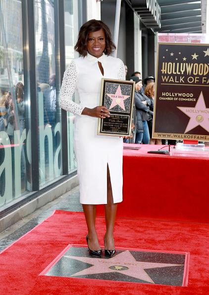 カリフォルニア州ハリウッド「Viola Davis Walk Of Fame Ceremony」:写真・画像(6)[壁紙.com]