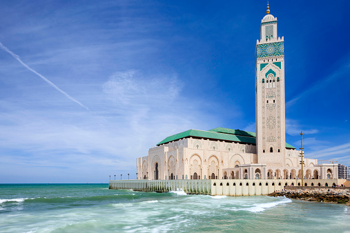 Morocco「The Hassan II Mosque in Casablanca」:スマホ壁紙(14)