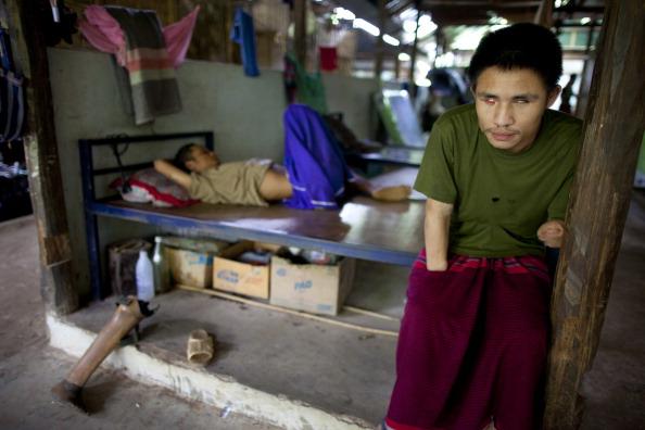 Dorm Room「Daily Life At Mae La Camp Thailand's Largest Refugee Camp」:写真・画像(17)[壁紙.com]
