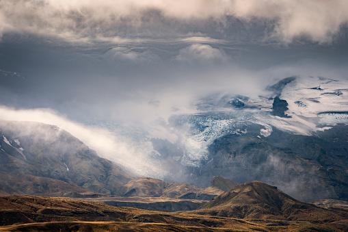 Volcanic Landscape「Steinsholtsjokull Glacier, Thorsmork, Iceland」:スマホ壁紙(5)