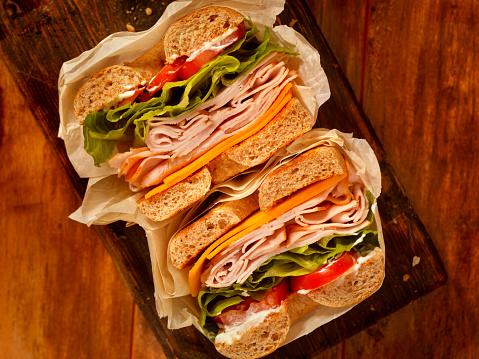 Sandwich「Deli Style Turkey Bagel Sandwich」:スマホ壁紙(12)