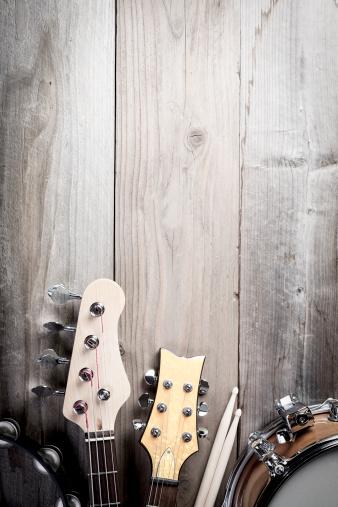 Rock Music「Musical Instruments」:スマホ壁紙(8)
