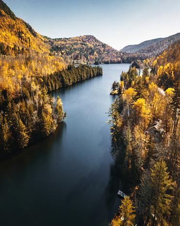 Northeast「lake in new hampshire during the fall season」:スマホ壁紙(13)