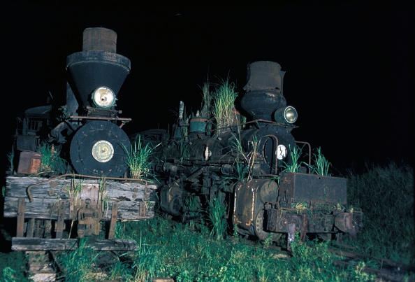 Cylinder「A picture made on Thursday 17th December 1981 some years after the Insular Lumber Company on Negros island had closed down. On the left is Lima built 3 Truck Shay No.12 and right the celebrated Baldwin built 0-6-6-0 4 cylinder Compound Mallet No.7.」:写真・画像(17)[壁紙.com]