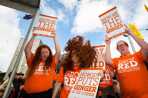 Albury - Hertfordshire「Melbourne Redheads Come Together For First Australian Ginger Pride Rally」:写真・画像(12)[壁紙.com]