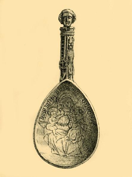 カトラリー「Silver Gilt Spoon」:写真・画像(18)[壁紙.com]
