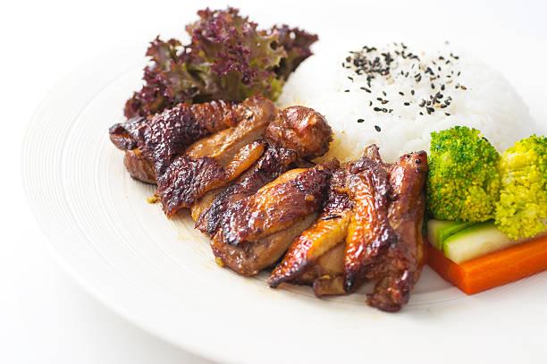 Rice and chicken:スマホ壁紙(壁紙.com)