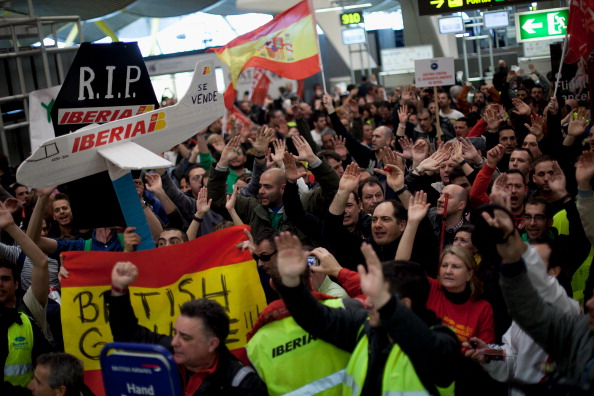 Corporate Business「Iberia Workers Hold Five-Day Strike Over Job Cuts」:写真・画像(7)[壁紙.com]