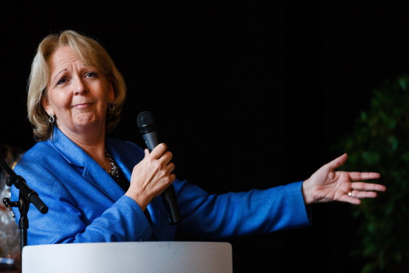 Thuringia「Hannelore Kraft Campaigns in NRW Elections」:写真・画像(13)[壁紙.com]