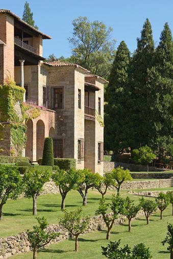 Restoring「Monastery Of Yuste Former Residence Of The Holy Roman Emperor Charles V; Cuacos De Yuste Caceres Extremadura Spain」:スマホ壁紙(6)