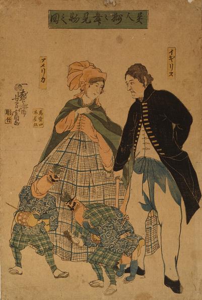日本「Foreigners watching New Year's dance, 1861」:写真・画像(5)[壁紙.com]