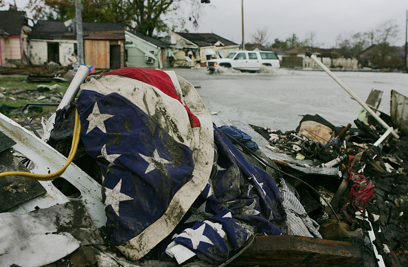 Damaged「New Orleans Feels Effects Of Hurricane Rita」:写真・画像(17)[壁紙.com]