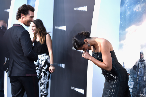 "Matthew McConaughey「Premiere Of Paramount Pictures' ""Interstellar"" - Arrivals」:写真・画像(9)[壁紙.com]"