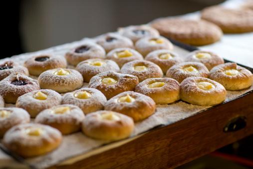 Bun - Bread「Custard buns」:スマホ壁紙(10)