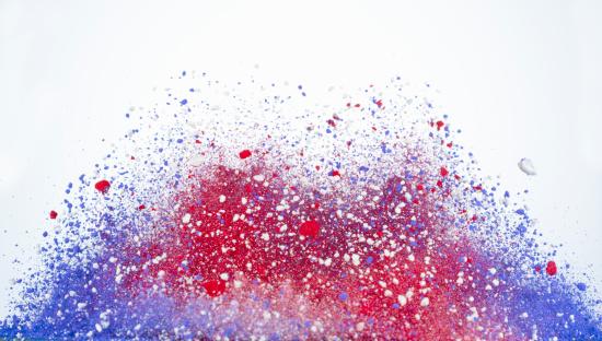 Patriotism「Red, white and blue powder」:スマホ壁紙(18)