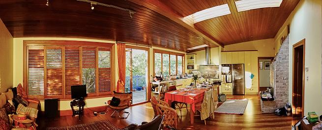 New Zealand「Characteristic New Zealand 19th century wooden villa」:スマホ壁紙(7)