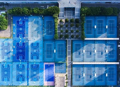 テニス「Sport courts」:スマホ壁紙(19)