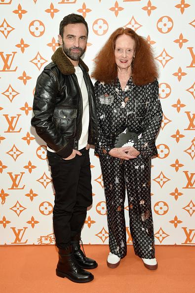 Leather Jacket「Louis Vuitton X Grace Coddington Event」:写真・画像(10)[壁紙.com]