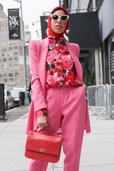 Achim Aaron Harding「Street Style - New York Fashion Week September 2018 - Day 4」:写真・画像(9)[壁紙.com]