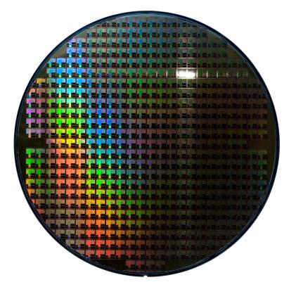 CPU「Computer wafer」:スマホ壁紙(10)