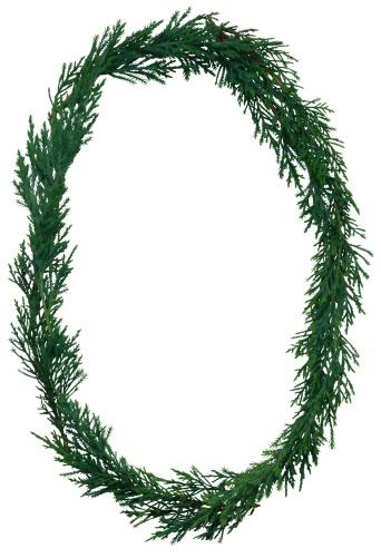 Zero「Evergreen branches as the letter O」:スマホ壁紙(12)