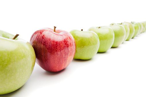 リンゴ「個性」:スマホ壁紙(17)