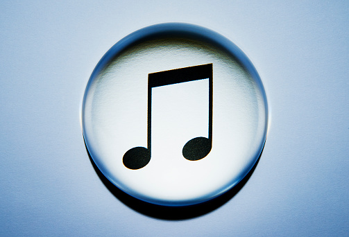 Pop Music「Music note concept.」:スマホ壁紙(19)