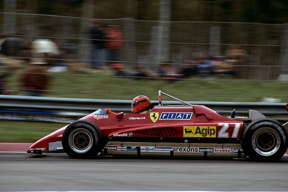 Ferrari「Gilles Villeneuve, Grand Prix Of San Marino」:写真・画像(3)[壁紙.com]