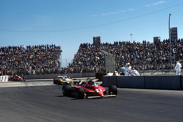 F1レース「Gilles Villeneuve, Grand Prix Of United States West」:写真・画像(4)[壁紙.com]