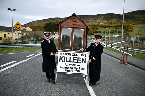 Brexit「The Border Communities Protest Against Brexit」:写真・画像(18)[壁紙.com]