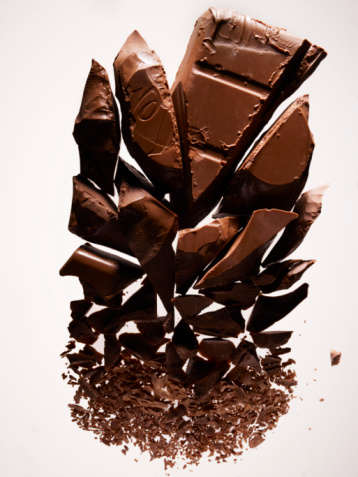 Chocolate Pieces「Gradation of pieces of chocolate」:スマホ壁紙(10)