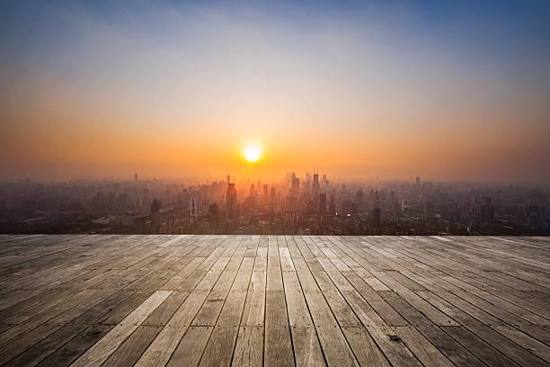sunset of shanghai china:スマホ壁紙(壁紙.com)