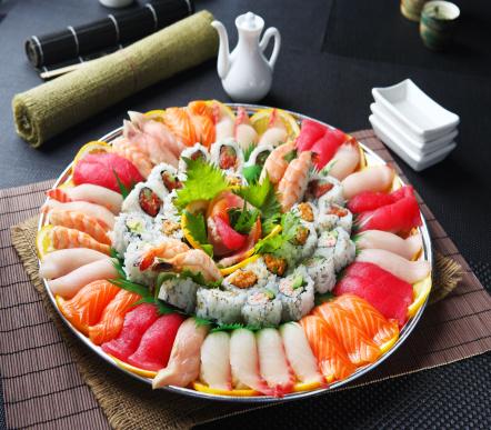 Algae「Sushi & Roll Party Tray」:スマホ壁紙(11)
