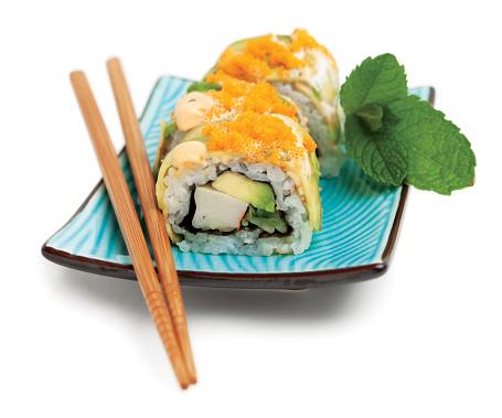 Seaweed「Sushi roll plate」:スマホ壁紙(16)