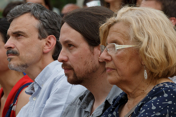 Jose Lopez「Pablo Iglesias Of Podemos Political Party Attends An Election Rally In Madrid」:写真・画像(19)[壁紙.com]