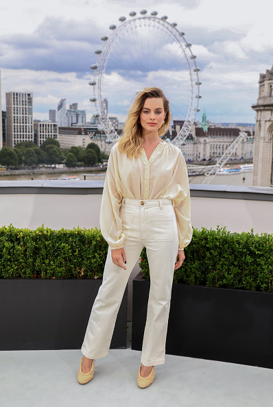 """White Color「""""Once Upon A Time…In Hollywood"""" London Photocall」:写真・画像(16)[壁紙.com]"""
