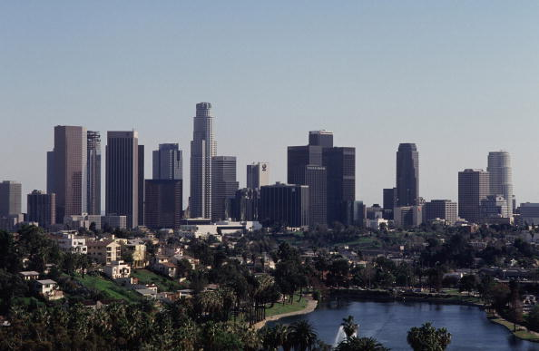 Urban Skyline「Downtown Los Angeles and Echo Park」:写真・画像(17)[壁紙.com]