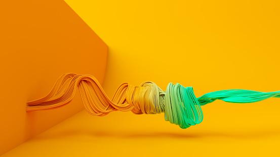 Cable「Wavy fiber optic background」:スマホ壁紙(9)