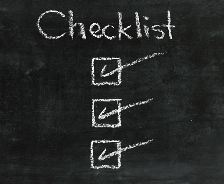 Chalk - Art Equipment「Checklist」:スマホ壁紙(14)