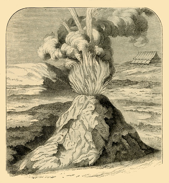 Volcanic Landscape「Cotopaxi In Eruption In 1743」:写真・画像(12)[壁紙.com]