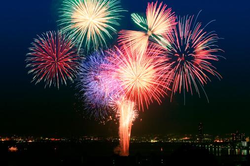 花火「Fireworks」:スマホ壁紙(5)