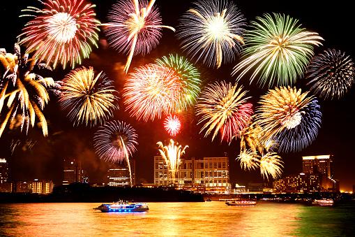 花火大会「fireworks」:スマホ壁紙(8)