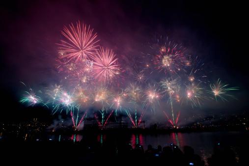 New Year「Fireworks」:スマホ壁紙(12)