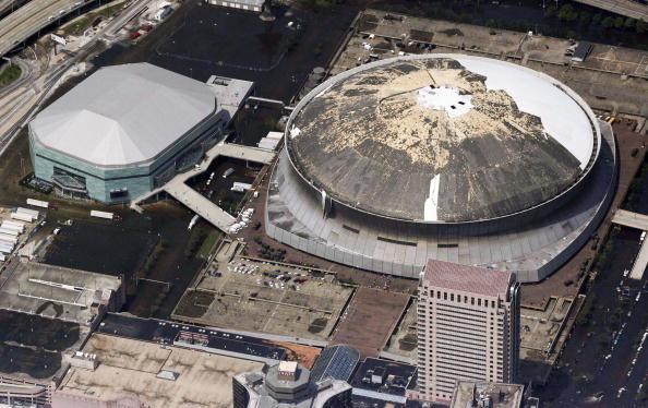 Damaged「Gulf Coast Begins Cleanup In Katrina's Aftermath」:写真・画像(10)[壁紙.com]